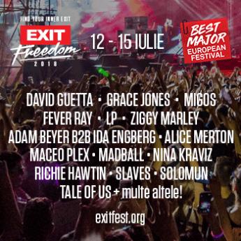 Poster Exit Festival 2018