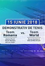Demo Tenis | Team Romania vs Team World