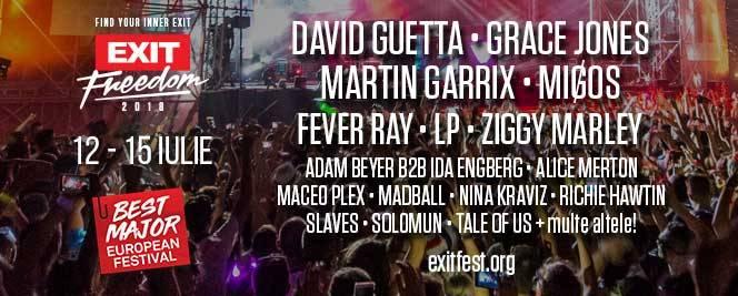 Exit Festival 2018