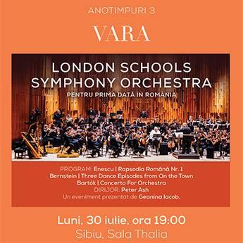 Poster Vara - London Schools Symphony Orchestra