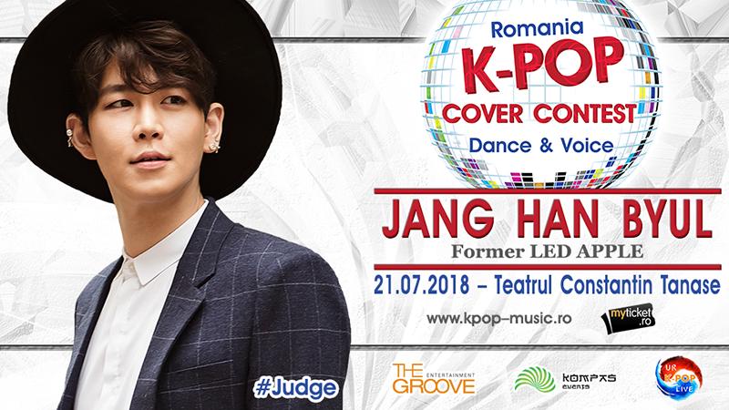 Poster Romania K-POP Cover Contest 2018