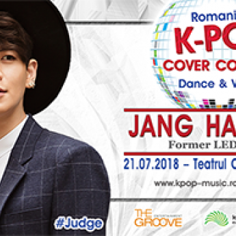 Poster Romania K-POP Cover Contest 2018