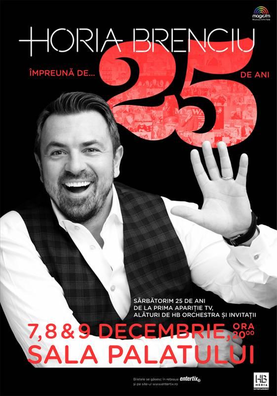 Poster HORIA BRENCIU IMPREUNA DE 25 DE ANI