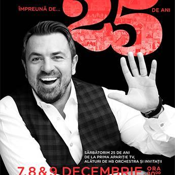 Poster HORIA BRENCIU 25 ANI TURNEU