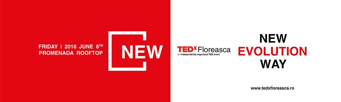 TEDxFloreasca – New Evolution Way