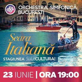 Poster Seara Italiana - Stagiunea SalutCultura