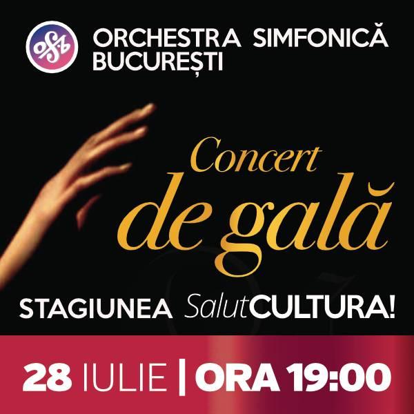 Poster Concert de gala - Stagiunea SalutCultura