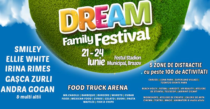 Poster DREAM FAMILY FESTIVAL