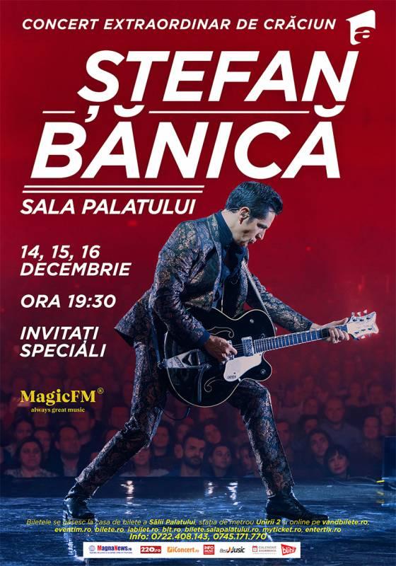 Poster STEFAN BANICA – CONCERT EXTRAORDINAR DE CRACIUN 2018