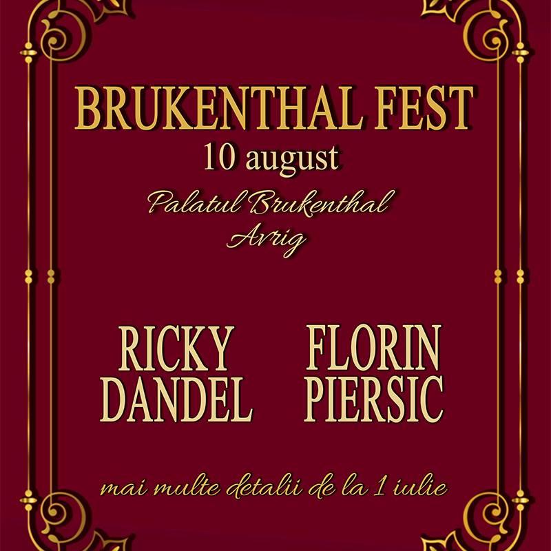 Poster BRUKENTHAL FEST