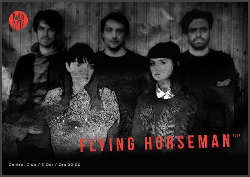 Poster Flying Horseman
