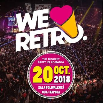 Poster WE LOVE RETRO