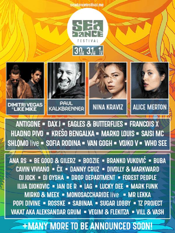 Poster Sea Dance festival