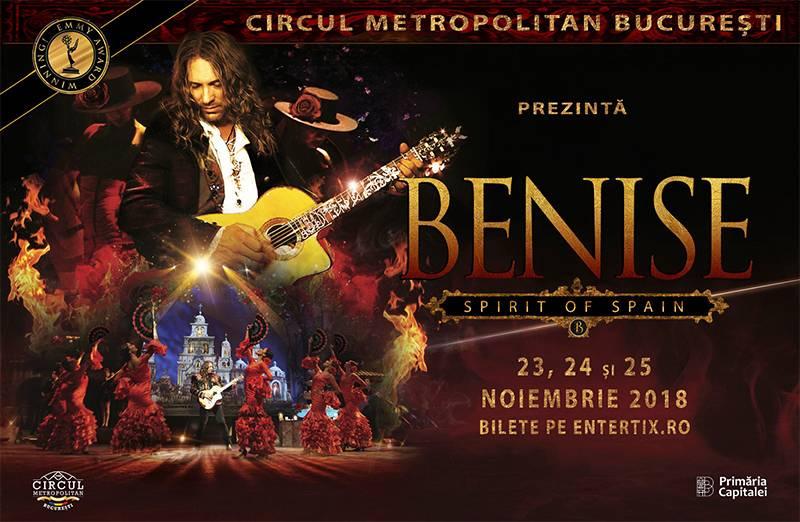 Poster BENISE  – SPIRIT OF SPAIN