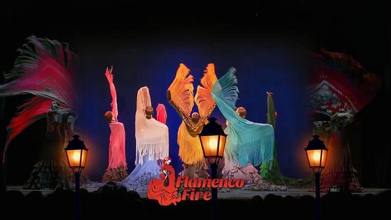 Poster Crescendo by Aire Flamenco Theatre