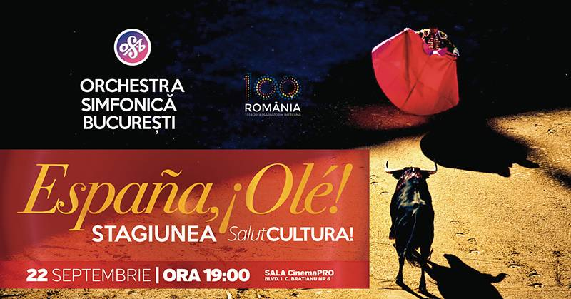 Poster Espana, Ole! - Stagiunea SalutCultura