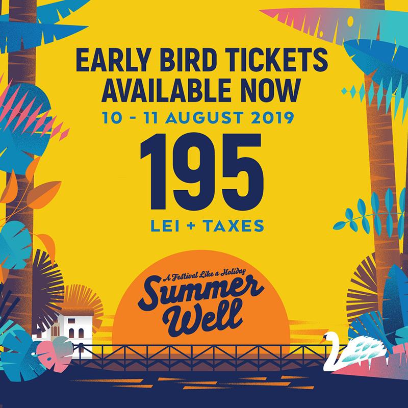 Poster Summer Well Festival 2019