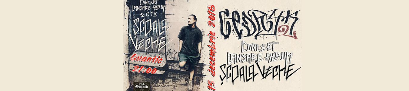 Cedryk lansare nou album '' Scoala Veche ''