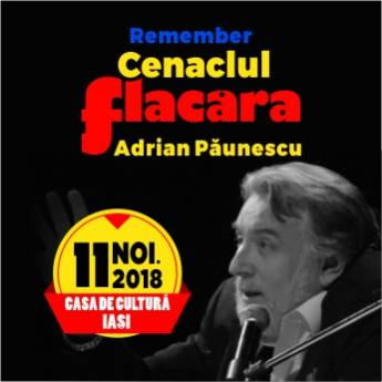 Poster Remember Cenaclul Flacara