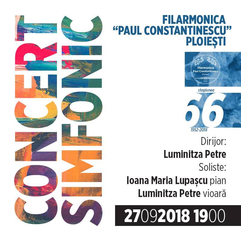 Poster Concert Simfonic