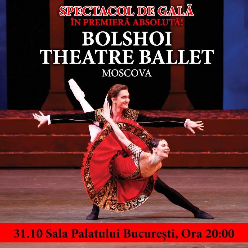 Poster BOLSHOI THEATRE BALLET MOSCOVA