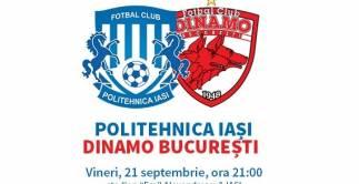 FC Politehnica Iasi - Dinamo Bucuresti