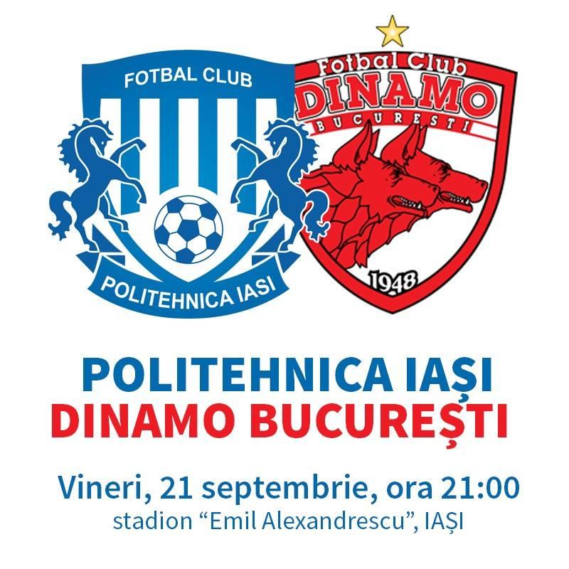 Poster FC Politehnica Iasi - Dinamo Bucuresti