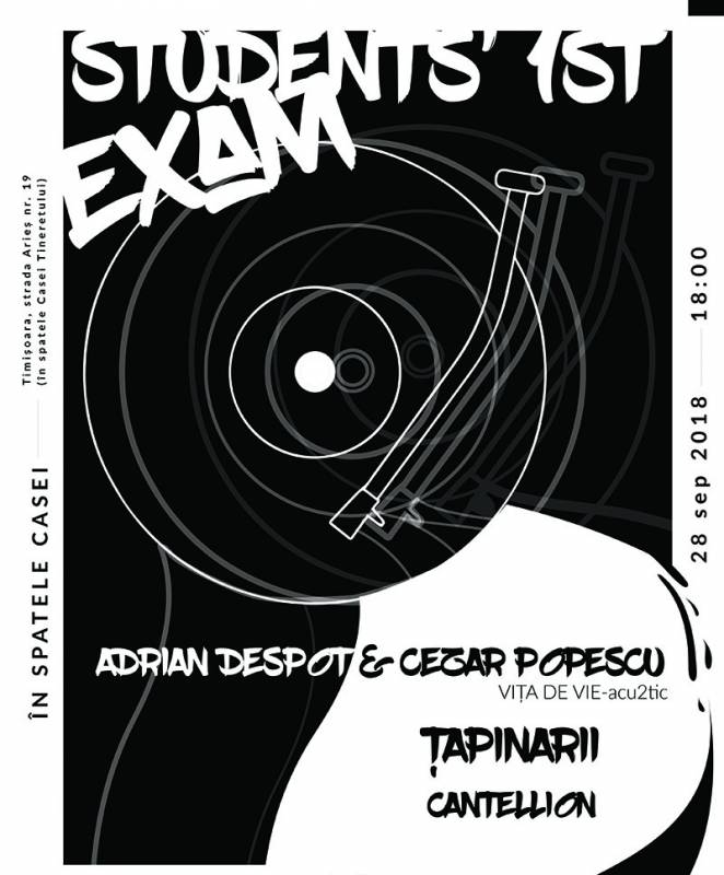 Poster Students' First Exam (cu Adrian Despot si Tapinarii)