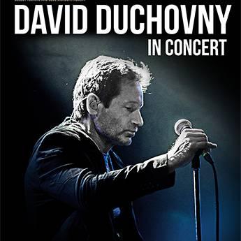 Poster DAVID DUCHOVNY - IN CONCERT