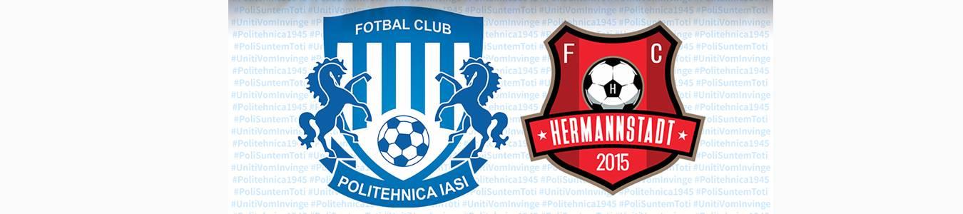 CSM Politehnica Iasi - AFC Hermannstadt