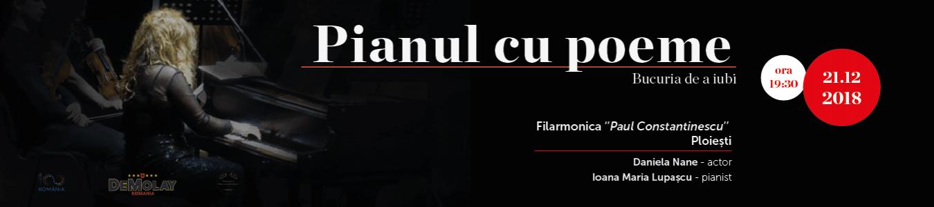 PIANUL CU POEME