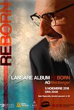 AG Weinberger - lansare album ReBorn