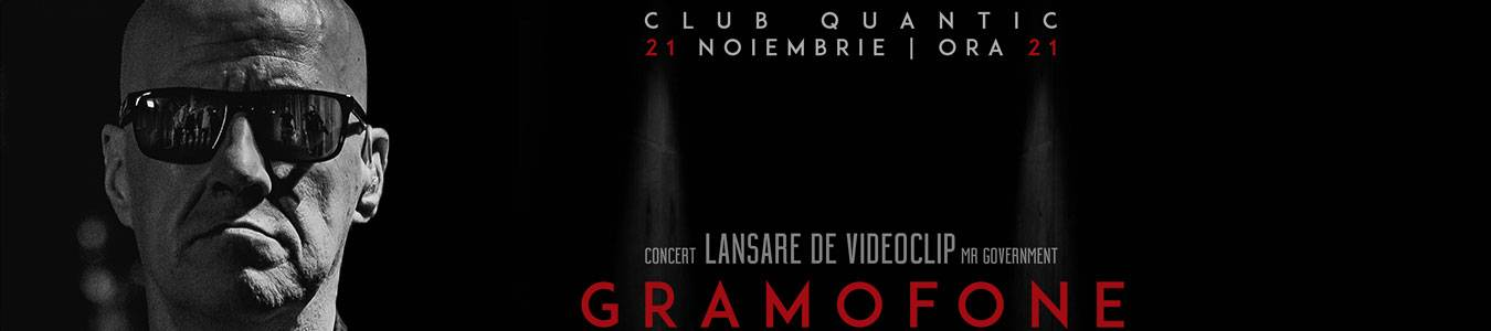 GRAMOFONE - CONCERT LANSARE DE VIDEOCLIP