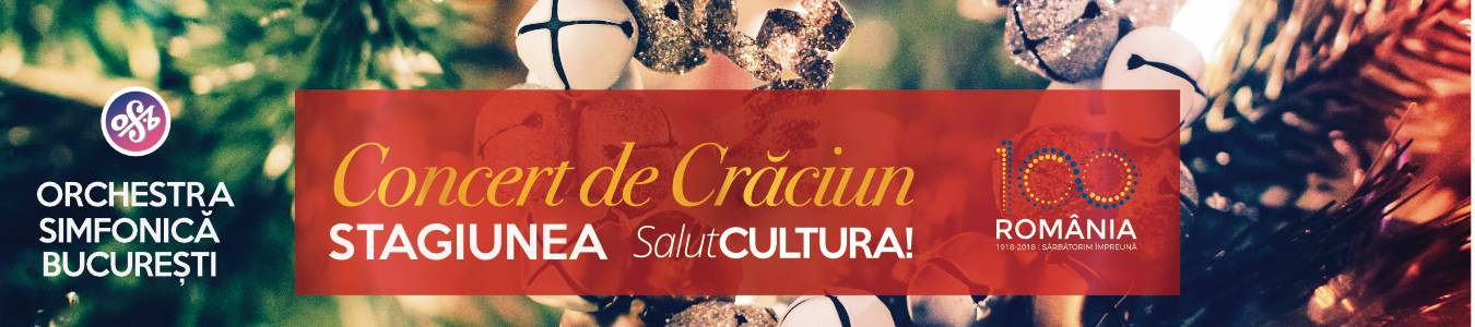 Concertul Extraordinar de Craciun - Stagiunea SalutCultura