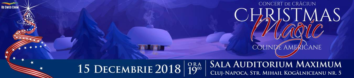 Christmas Magic-Concert de colinde americane