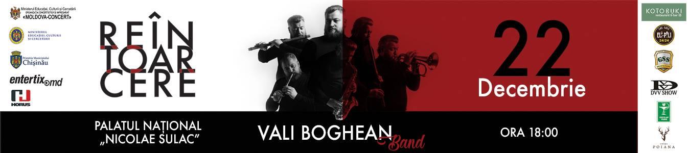 Reintoarcerea cu Vali Boghean Band