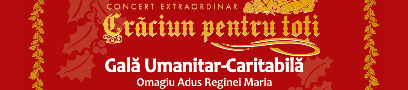 CONCERT EXTRAORDINAR - CRACIUN PENTRU TOTI