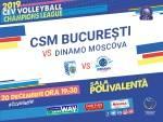 CSM BUCURESTI VS. DINAMO MOSCOVA