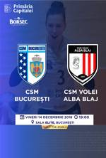 CSM Bucuresti vs. CSM Volei Alba Blaj