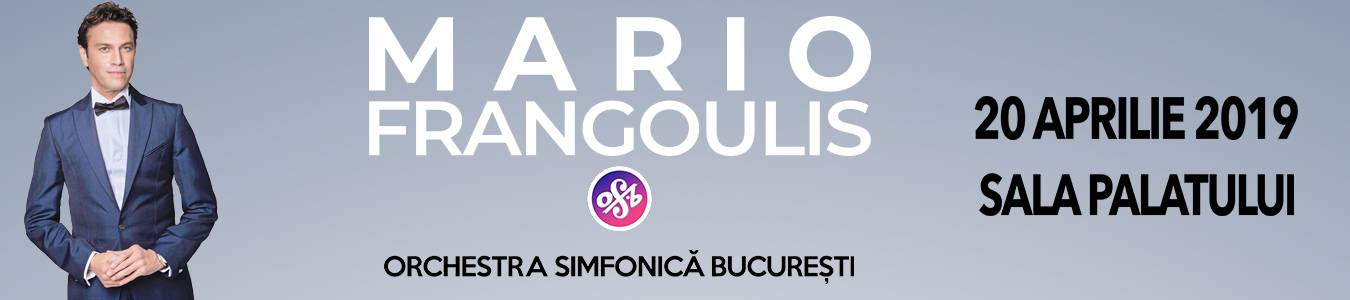 Mario Frangoulis Live in Bucharest