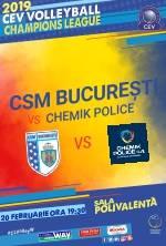 CSM BUCURESTI VS. CHEMIK POLICE