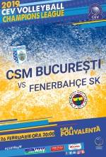 CSM BUCURESTI VS. FENERBAHCE SK