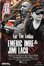 Emeric Imre & Jimi Laco live for the ladies @Mojo
