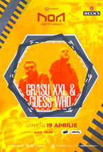 GRASU XXL & GUESS WHO @ Club NOA