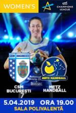 CSM BUCURESTI VS. METZ HANDBALL (FRA)