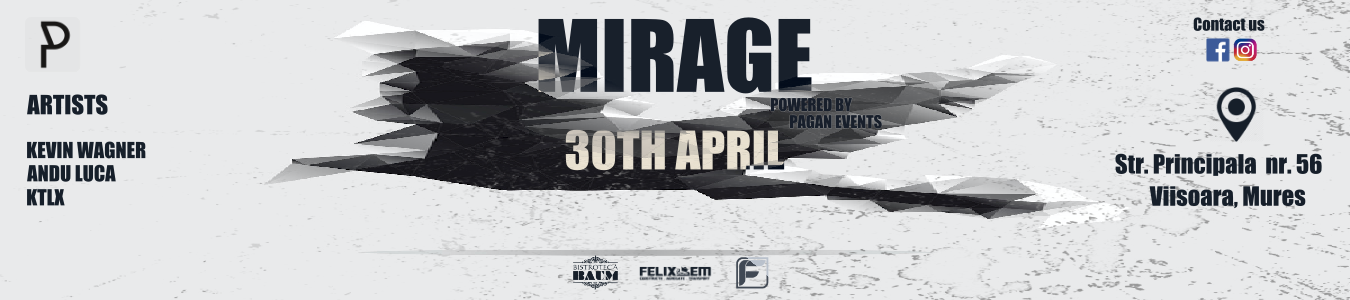 MIRAGE by PAGAN EVENTS
