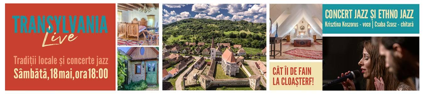 Transylvania Live: Garden Party la Cloasterf, cu traditii locale si concert jazz