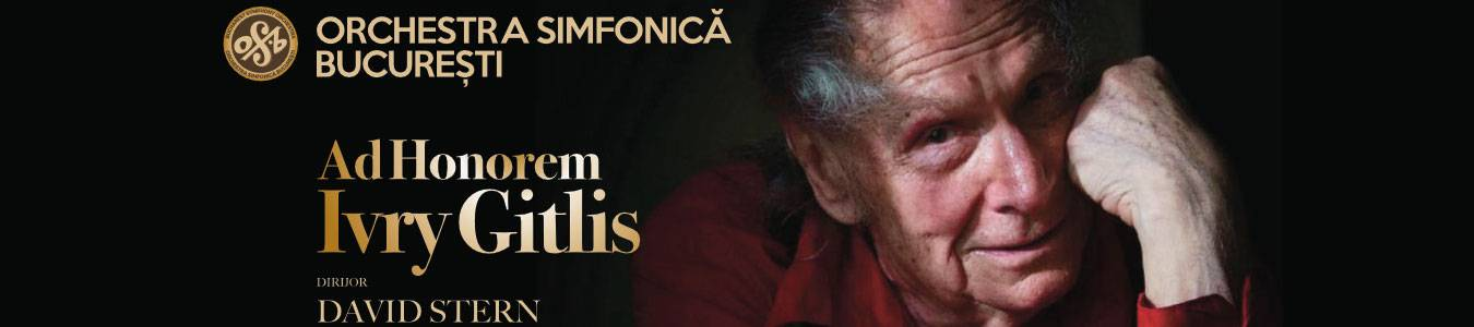 SalutCULTURA! - AD HONOREM Ivry Gitlis