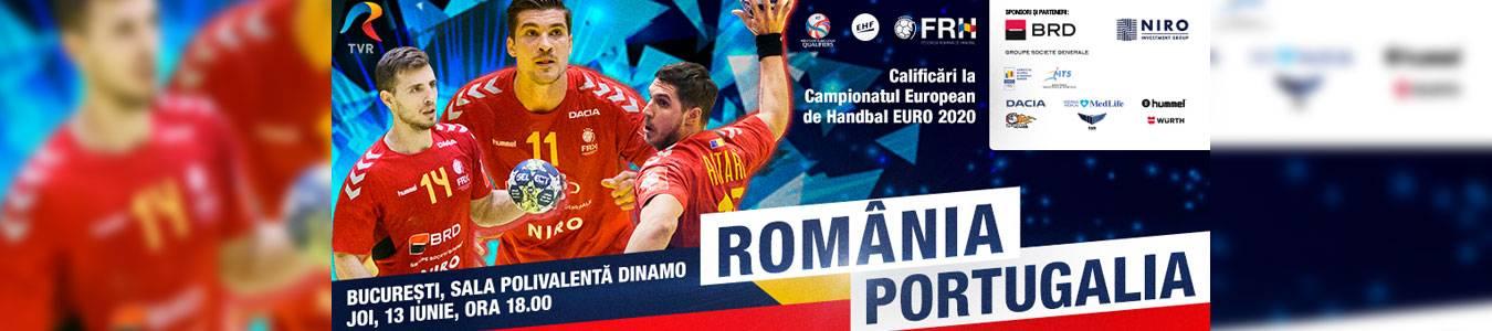 Handbal Masculin: Romania – Portugalia