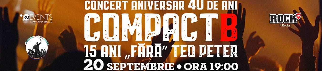 Concert aniversar COMPACTB - 15 ani fara Teo Peter